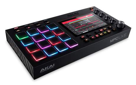 AKAI MPC Live Groove produkční studio