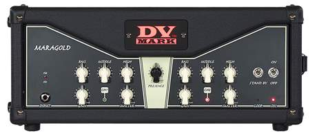 DV MARK Greg Howe Maragold Kytarový lampový zesilovač