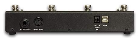 DV MARK Multiamp Midi Pedalboard (rozbalené) Speciální nožní přepínač