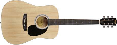 FENDER SQUIER SA-105 NA Akustická kytara