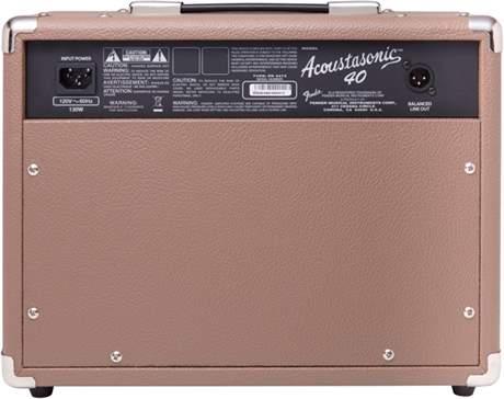 FENDER Acoustasonic 40 Kombo pro akustické nástroje
