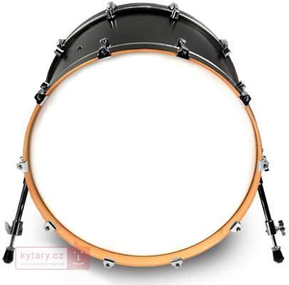 """EVANS 24"""" EQ3 Reso Smooth White bez loga Rezonanční blána na basový buben"""