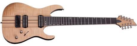 SCHECTER Banshee Elite-8 GNAT Elektrická osmistrunná kytara