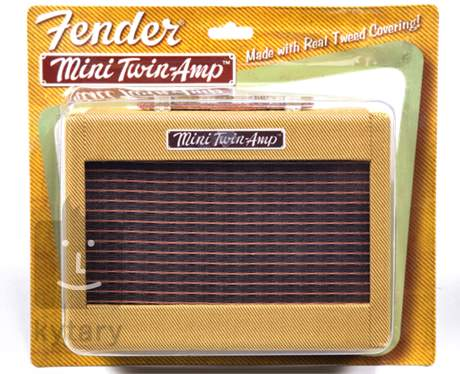FENDER Mini 57 Twin-Amp Tweed Kytarové tranzistorové kombo