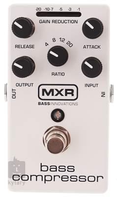 DUNLOP MXR M87 Bass Compressor Baskytarový efekt
