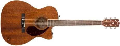 FENDER PM-3 Triple-0 ALL MAH NE NAT Akustická kytara