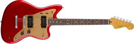 FENDER SQUIER Deluxe Jazzmaster CAR ST Elektrická kytara