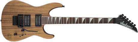 JACKSON SLX Soloist RW KOA Elektrická kytara