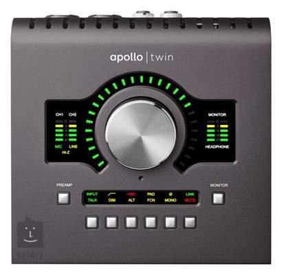 UNIVERSAL AUDIO Apollo Twin MKII DUO Thunderbolt zvuková karta