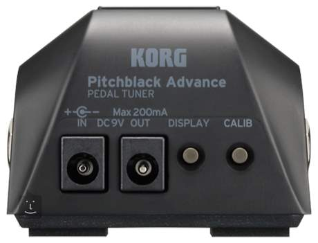 KORG Pitchblack Advance Pedálová ladička