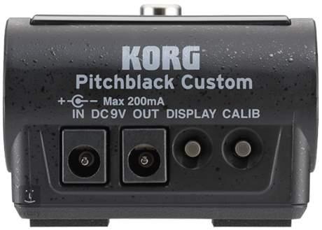 KORG Pitchblack Custom Pedálová ladička