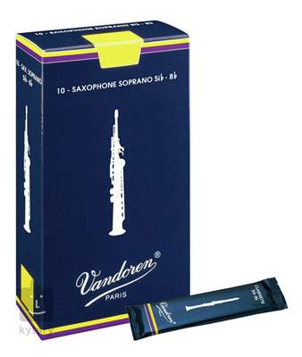 VANDOREN Soprano Sax Classic 4 - box Saxofonové plátky