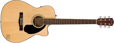 FENDER CC-60SCE NAT Elektroakustická kytara