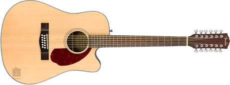FENDER CD-140SCE-12 NAT WC Dvanáctistrunná elektroakustická kytara