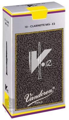 VANDOREN Eb Clarinet V12 2.5 - box Klarinetové plátky