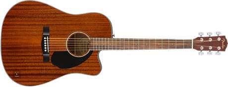 FENDER CD-60SCE ALL MAH Elektroakustická kytara