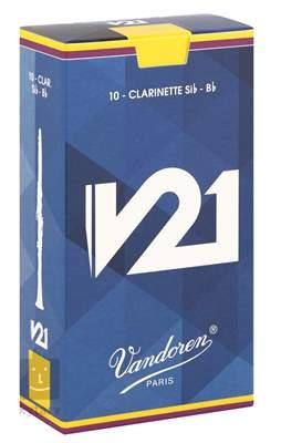 VANDOREN Bb Clarinett V21 3 - box Klarinetové plátky