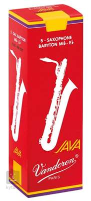 VANDOREN Baritone Java Red 3.5 - box Saxofonové plátky