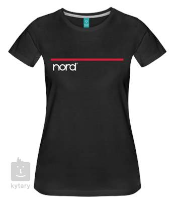 NORD T-Shirt Black M  Woman Tričko