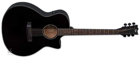 ESP LTD A-300E BLK Elektroakustická kytara