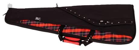 LORZ Flare Electric Wedge Tartan Obal pro elektrickou kytaru