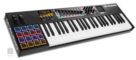 M-AUDIO Code 49 BK USB/MIDI keyboard