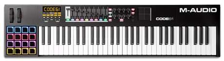 M-AUDIO Code 61 BK USB/MIDI keyboard