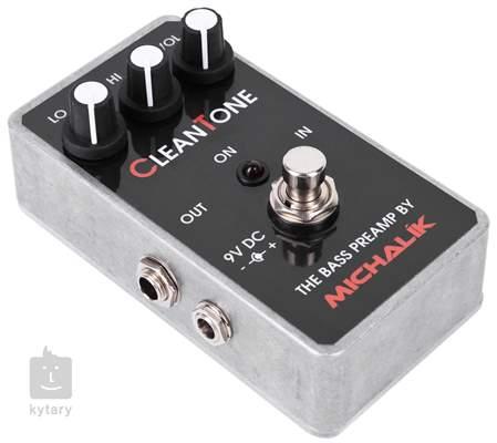 MICHALÍK Clean Tone Baskytarový předzesilovač