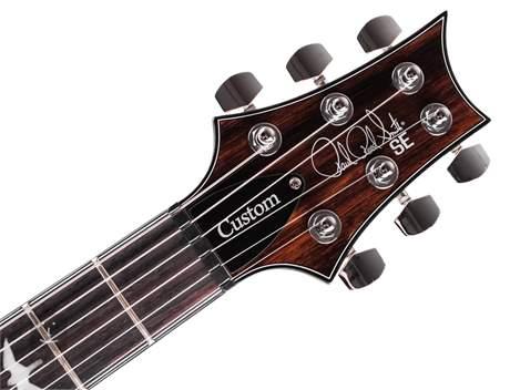 PRS SE Custom 24 Ebony Ltd Edition Elektrická kytara