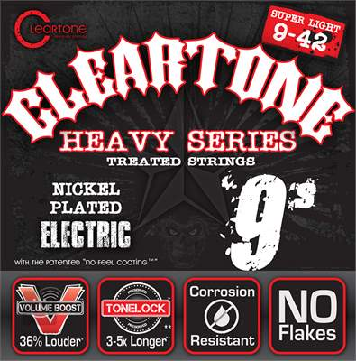 CLEARTONE 9509 Struny pro elektrickou kytaru
