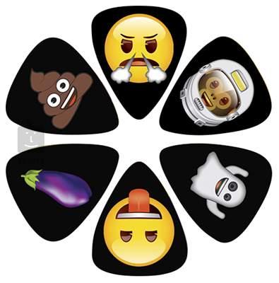 PERRI'S LEATHERS Emoji Picks XI Trsátka