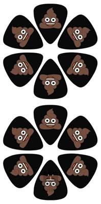PERRI'S LEATHERS Emoji Picks I Poo Trsátka