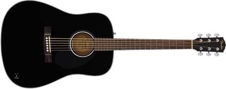 FENDER CD-60S BLK (použité) Akustická kytara