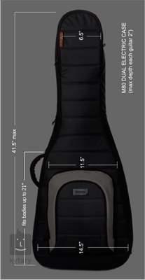 MONO Dual Electric Obal pro dvě kytary