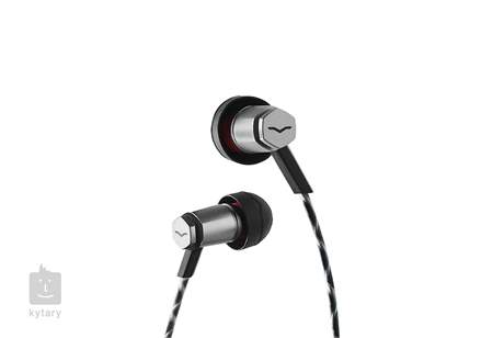 V-MODA Forza Metallo In-Ear Headphones (Black / IOS) In-Ear sluchátka