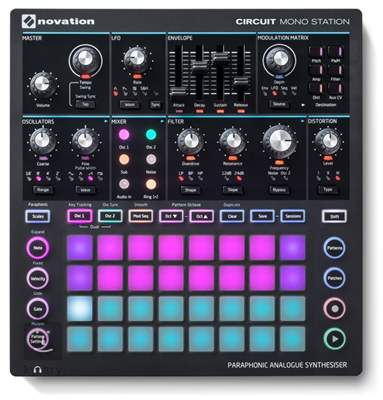 NOVATION Circuit Mono Station Syntezátor