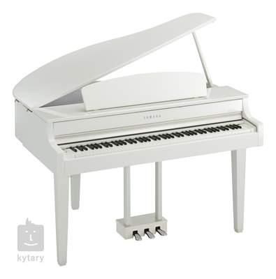 YAMAHA CLP-665GPWH Digitální piano