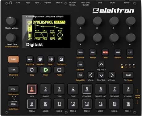 ELEKTRON Digitakt Groovebox