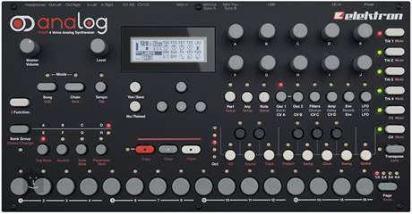 ELEKTRON Analog Four Syntezátor