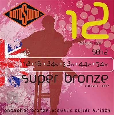 ROTOSOUND SB12 Kovové struny pro akustickou kytaru