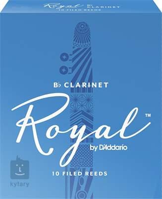 D'ADDARIO Rico Royal Bb Clarinet 1, 10  Klarinetové plátky