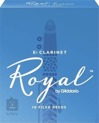 D'ADDARIO Rico Royal Eb Clarinet 3, 10  Klarinetové plátky
