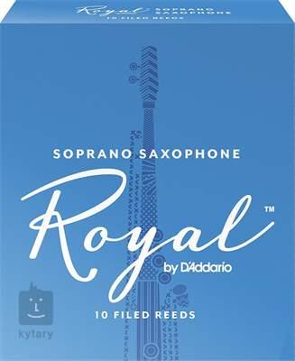 D'ADDARIO Rico Royal Soprano Sax, 3, 10  Saxofonové plátky