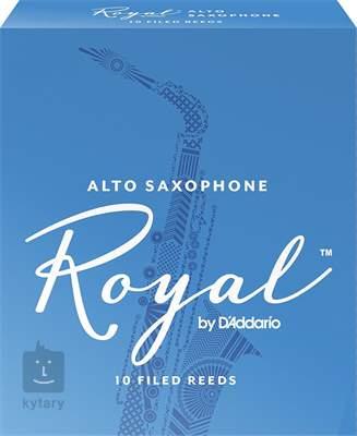 D'ADDARIO Rico Royal Alto Sax 3,5, 10  Saxofonové plátky