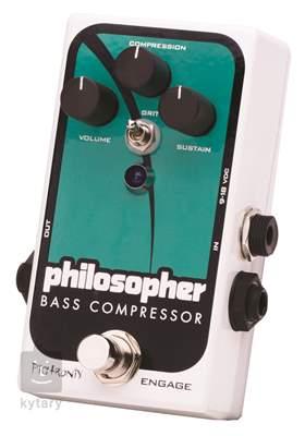 PIGTRONIX Philosopher Bass Compressor Baskytarový efekt