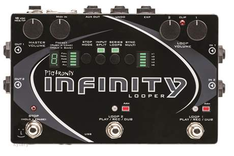 PIGTRONIX Infinity Looper Kytarový efekt