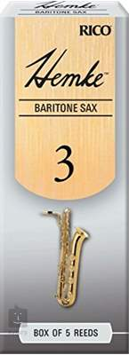 RICO Hemke Baritone saxofon 2, 5  Saxofonové plátky