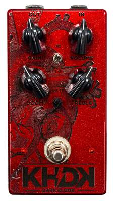 KHDK Dark Blood Limited Edition with Signature Kirk Hammett Kytarový efekt