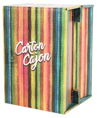 CARTON CAJON Happy Stripes Cajon