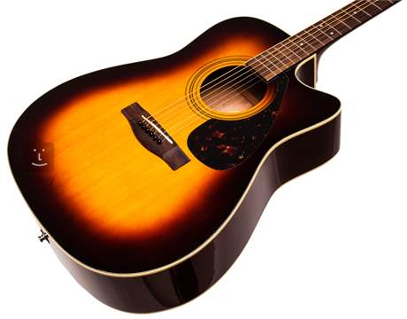 YAMAHA FX 370 C TBS Elektroakustická kytara